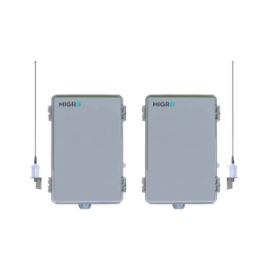 Migro Wireless Control 154 MHz 4 CH-Remote operation for: Pumps, Lighting, Process, Alarms, Gates, Valves