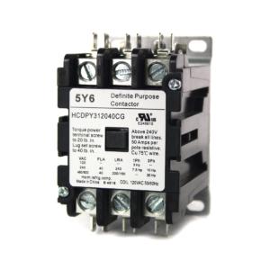 Contactor DP 3P NO 40A 120V