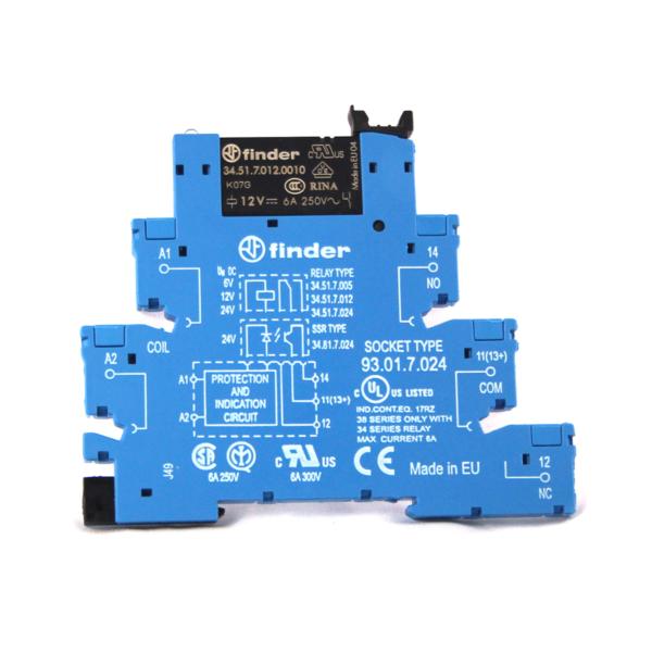 Finder Relay Ultra Slim SPDT Electromechanical Relay