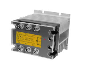 Solid State Contactor 3 Pole 60A 5-24 VDC